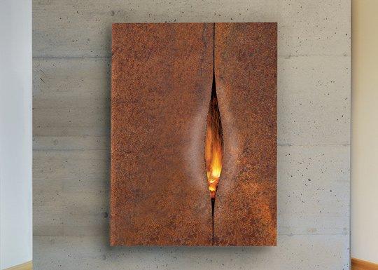 камин из термостойкого железа